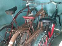 Bikes for sale!! Have 4 vintage Schwinns (cruiser type)