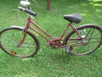 I have a Vintage Schwinn Breeze bicycle for sale. $30