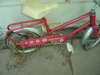 Vintage Sears Childs Bicycle. To see more items I have
