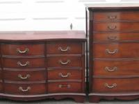 for sale are 2 vintage bedroom dressers ($350/each)