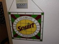 "Providing a vintage 70's ""Celebrate Squirt A Tradition"""