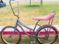 We have a Vintage Sting Ray Garden Bike. The tires hold