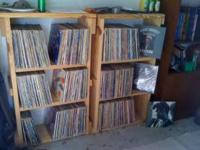 or 400 bucks for the lot. Mostly classic rock. 70's and