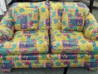 Here is a love seat that would be great out on a sun