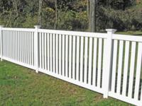 Anchor B is the leader in vinyl fence fabrication and