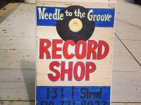We are a record shop that buys, sells, and trades