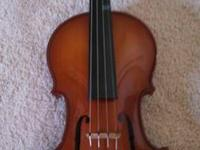 Full size violin originally chose $600. Was utilized