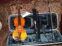 Violin purchased from Mississippi Music brand new only