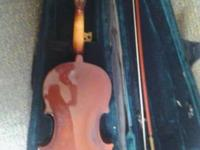 Full size violin needs bridge and strings asking $60
