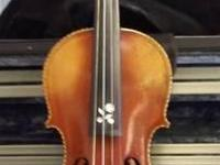 Antique violin for sale. In excellent condition. Please