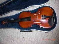I have a violin in good condition with very little