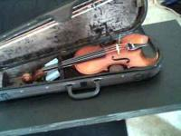 I have one violin and one viola with wooden bridges,