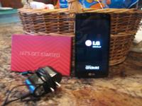 Virgin Moble LG Tribute 4G LTE network. Unlimited Data