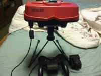 I am selling a Nintendo Virtual Boy console with a RARE