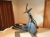 Up for sale is a Vision Fitness Elliptical Trainer