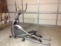 Vision Fitness elliptical machine in great condition.