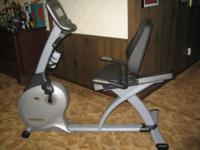 Semi-Recumbent Fitness Bike purchased at Summit City
