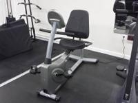 I am offering this vision fitness recumbent b bike that