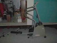 This is the Vision Fitness X6100 elliptical. It has a