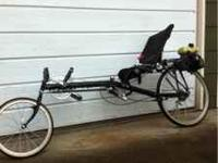 Vision R40 recumbent all hardware is stainless steel