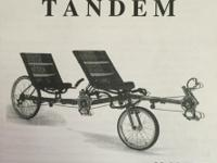 Vision Tandem Recumbent Bike This is a comfortable and