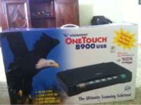 Visioneer one touch 8900 USB for $75 excellent