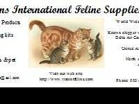 Visions International Feline Supplie, now has a small