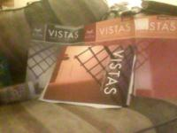 VISTAS Spanish I - IV Book for ACC courses hm - $150