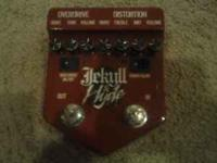 I am selling my Visual Sound Jekyll & Hyde Overdrive