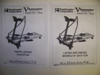 VITAMASTER Northern Trails Manual Ski Machine owners