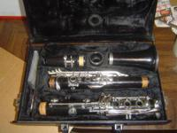 This clarinet has been checked out by a local