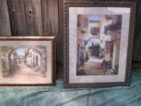 framed prints by vivian flash, smallest is 19x22;