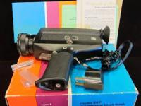 Vivitar 94P Super 8 Movie Camera (#260) $65 Attention