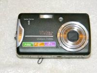 7 MP, 3.0 inch screen, 3X optical zoom. Used very