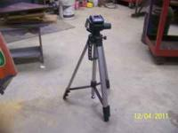 Vivitar tripod with bubble level. Asking $12 but am