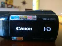 Canon Vixia HFM31, good condition. Usually just use it