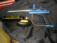 I HAVE A REALLY NICE PAINTBALL GUN FOR SALE. IT COMES