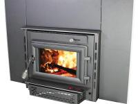 The Colonial is an air tight fireplace insert that will