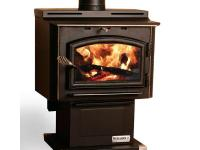 The Highlander is an air tight plate steel wood stove