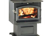 The high-efficiency Shiloh wood stove is an air tight
