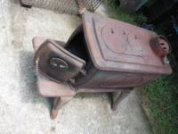 VOGELZANG Wood Burning Stove Heavy duty cast iron,