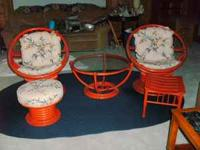 I am selling the most marvelous set of Vogue Rattan