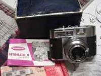 voigtlander vitomatic II camera,from the 50s,the first