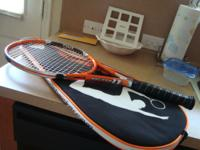 New racquet I got as a gift. Tried playing with it, but