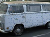 VOLKSWAGEN 1971 T2 BUS CAMPER Restoration Project $4000