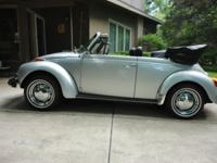 This car is a perfect example of the Beetle and is in