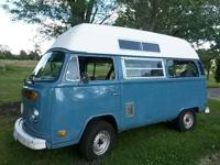 1973 Contempo Camper Highroof bus Very solid original