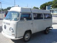 1968 VW CAMPER BUS, RUNS AND DRIVES, POWER STEERING,