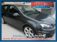 It's hard to resist this gray 2010 Volkswagen GTI! This