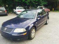 Volkswagen passat year 2003 1.8 turbo engine with very